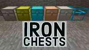 [Mod] Iron Chests - 1.7.10 → 1.14.4 • Minecraft.fr