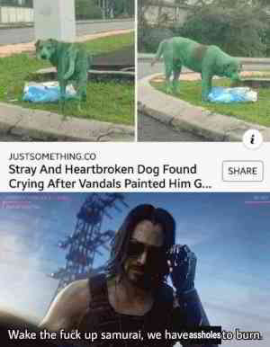 But why would do that to a dog tho