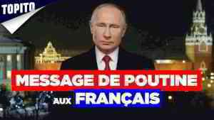 Message de Poutine aux Français (Coronavirus)