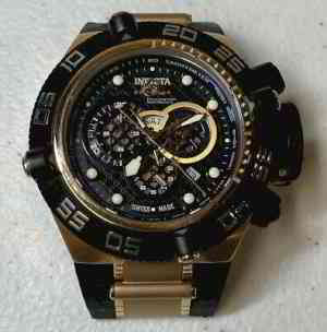 Invicta Subaqua Noma IV 6575Men's Chronograph Watch NEW BATTERY but NO BAND | eBay