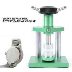 Watch Case Back & Crystal Glass Press Closer Repair Tool Set Capping Machine | eBay