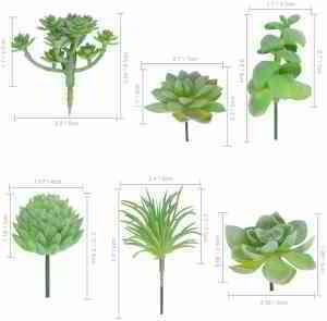 Assortiment de succulents artificiels en aloe texturé artificiel pour bouquet de perles artificielles: Amazon.ca: Maison et Cuisine