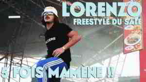 Lorenzo - Freestyle du Sale X 5 - Live (Eurockéennes 2017)