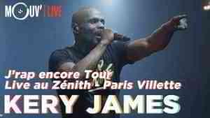 KERY JAMES : J'rap encore tour au Zénith Paris - La Villette [live intégral]