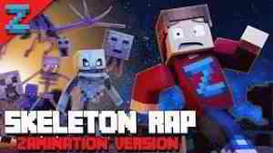 MINECRAFT SKELETON RAP   ZAMination Version (Animated Music Video) Dan Bull