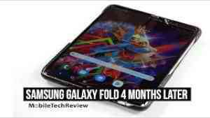 Samsung Galaxy Fold Long Term Review- 4 Months Later