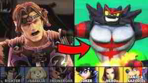 Getting an Entire Row of Characters to Elite Smash
