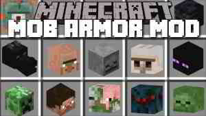 Mob Armor Mod 1.12.2/1.8.9 (Turn Into Mobs, Gain Their Abilities) - 9Minecraft.Net