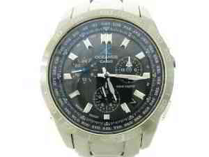 Auth CASIO Oceanus OCW-600 Silver 221C086F Mens Wrist Watch | eBay