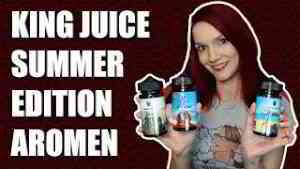 King Juice Summer Edition Aromen