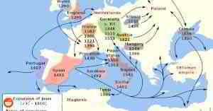 Expulsion of Jews in Europe (1100-1600)