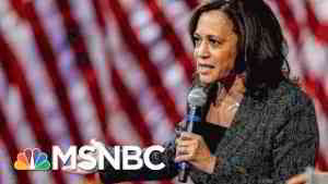 Kamala Harris Addresses Alleged Sex Assault Where Her Husband Works | Hallie Jackson | MSNBC