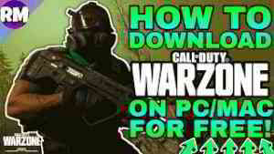Call of duty warzone mac