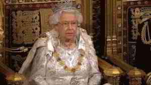 Queen's Speech 2019: Queen says Britain will leave on October 31
