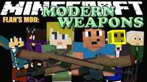 Flan's Modern Weapons Pack Mod 1.12.2/1.7.10 - 9Minecraft.Net
