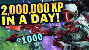 2 MILLION XP in a Day! - Best XP Farming Method   Destiny 2: Shadowkeep