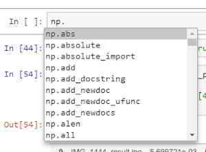 Jupyter Notebook - how to enable Intellisense