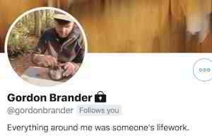 """Michael Nielsen on Twitter: """"One of my favourite Twitter bios is @gordonbrander's: """"Everything around me was someone's lifework"""". Goes not just for things, but also for ideas, language, culture, etc. Not always literally true, of course, but it has a very striking core of truth. https://t.co/PxL5XPRktg"""" / Twitter"""