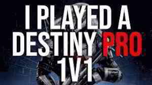 I Played A Destiny Pro in a 1v1