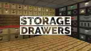 [Mod] Storage Drawers - 1.7.10 → 1.15.2 • Minecraft.fr