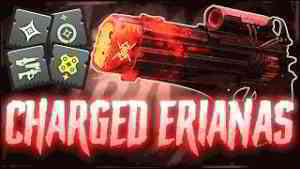 CHARGED Eriana's Vow is the Best Sniper in the Game.. | (Insane Mod Build Gets Me UNDEFEATED)