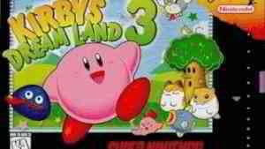 Kirby's Dreamland 3 - Sand Canyon 1