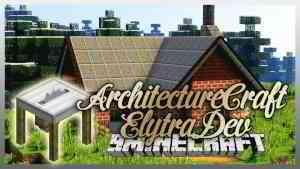 ArchitectureCraft ElytraDev Mod 1.12.2 (Distinguished Architectural Features) - 9Minecraft.Net