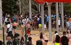 Vidéo. Une bagarre impliquant une centaine de jeunes se déclenche dans un centre de loisirs à Étampes