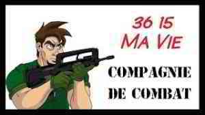 Mon service militaire - Compagnie de combat - Caljbeut