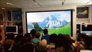 Nintendo E3 2016 Zelda: Breath of the Wild Live Reactions and Demo at Nintendo NY