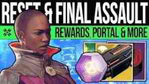Destiny 2 | BIG DLC RESET & FINAL ASSAULT! Undying Mind, Rewards, Pinnacles & Vendors! (19 Nov)