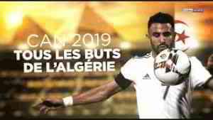 🏆 CAN 2019 🇩🇿 Tous les buts de l'Algérie