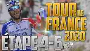 TOUR DE FRANCE 2020 - GROUPAMA FDJ - Étape 4 à 6