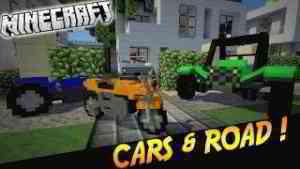 "MOTO ET VOITURES DANS MINECRAFT !   Présentation du modpack ""CARS & ROAD""! - [1.7.10]"