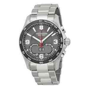 NEW VICTORINOX UNISEX CHRONO CLASSIC ANALOG DISPLAY QUARTZ SILVER WATCH 241618 | eBay