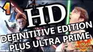 LE RETOUR DE LA 1080P !!! -Jedi : Fallen Order- Ep.1 HD DEFINITIVE EDITION