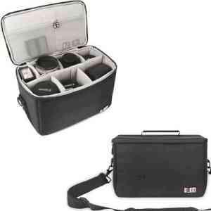 BUBM SLR/DSLR Lens Organizer Case,Travel Storage Bag for Canon Nikon Camera Lens | eBay