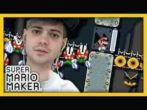IL A RÉUSSI A ME FAIRE RAGER ! - SUPER MARIO MAKER (WII U)