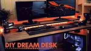 DIY Dream Desk Setup - 4K Timelapse Video (2018)