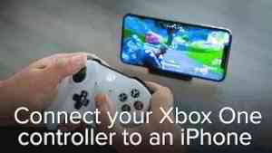 How to connect xbox one controller iphone xs max