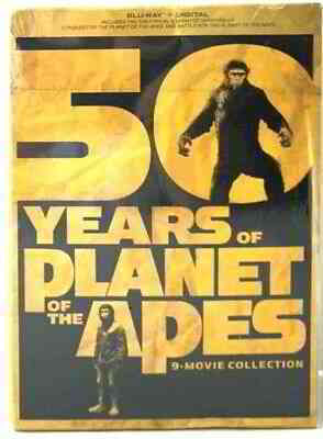 Planet of the Apes: 50 Years 9-Movie Collection | eBay
