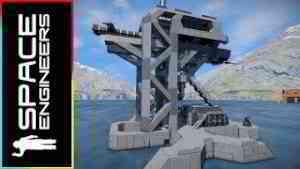 Automatic Deep Core Mining Rig Zeta-11B - Space Engineers