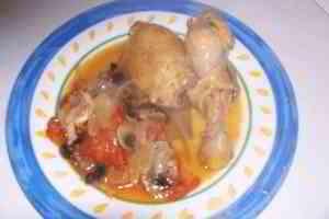 Poulet marengo