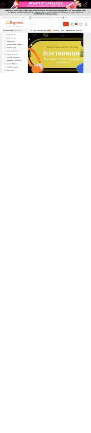 Code Promo AliExpress | 3.54€ de réduction + 7% en Cashback | soldes 2020