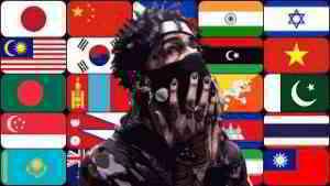 Best Rap Around  Asia   [ 25 countries ]