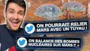 VOS (pires) THÉORIES POUR COLONISER MARS !