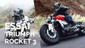 Essai Triumph Rocket 3 R et GT