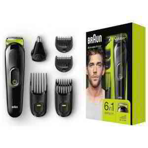 Buy Braun 6 in 1 Beard Trimmer and Hair Clipper Kit MGK3021/3221 | Beard and stubble trimmers | Argos