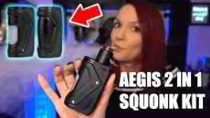 Aegis 2 in 1 Squonk Kit von GeekVape
