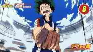 #ヒロアカアニメ名シーン:第8弾「デクvs轟」(『僕のヒーローアカデミア』第23話より)